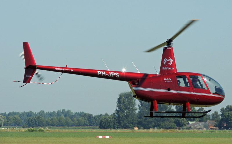 Helikopterles R44