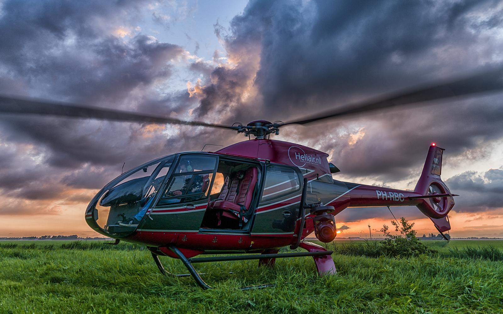 EC120 helikopter proefles