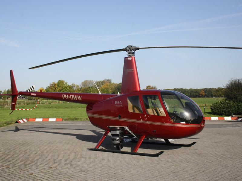 Harskamp Helikopter Proefles R44